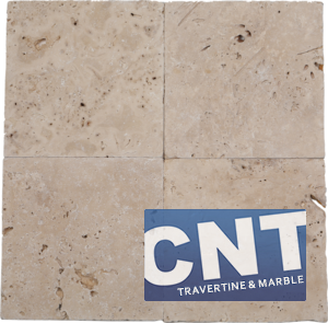 Light Antique Tumbled Travertine DRY