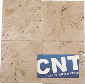 Light Antique Tumbled Travertine WET