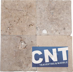 Rustic Mix Antique Tumbled Travertine DRY