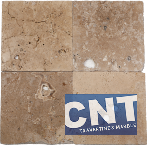 Rustic Mix Antique Tumbled Travertine WET